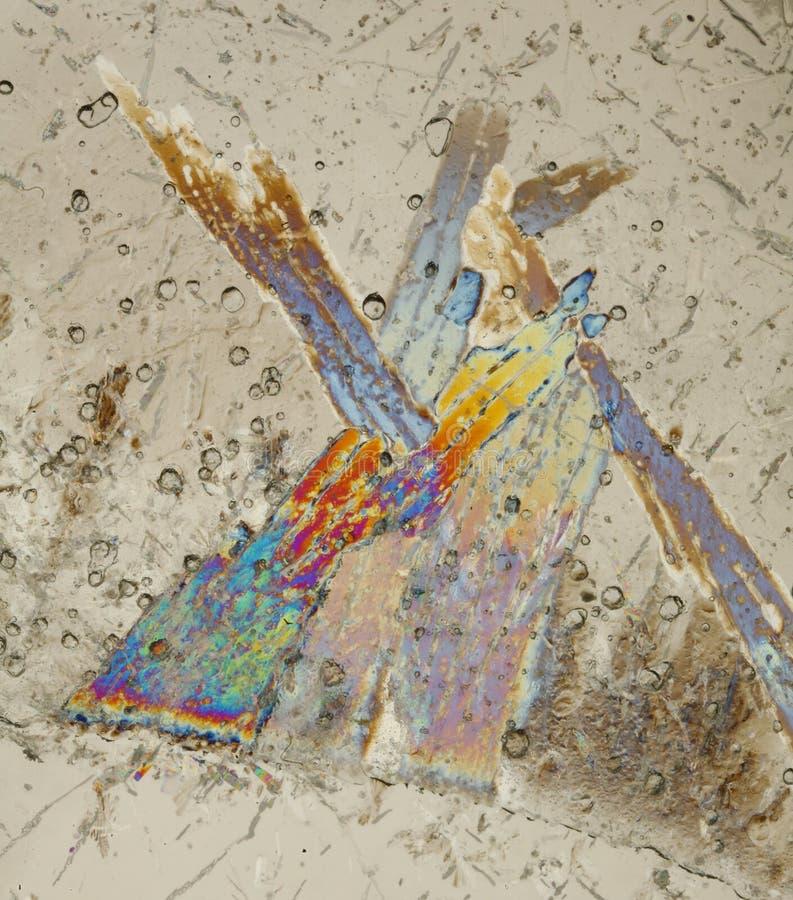 επιφάνεια πάγου κρυστάλ&lamb στοκ φωτογραφίες με δικαίωμα ελεύθερης χρήσης