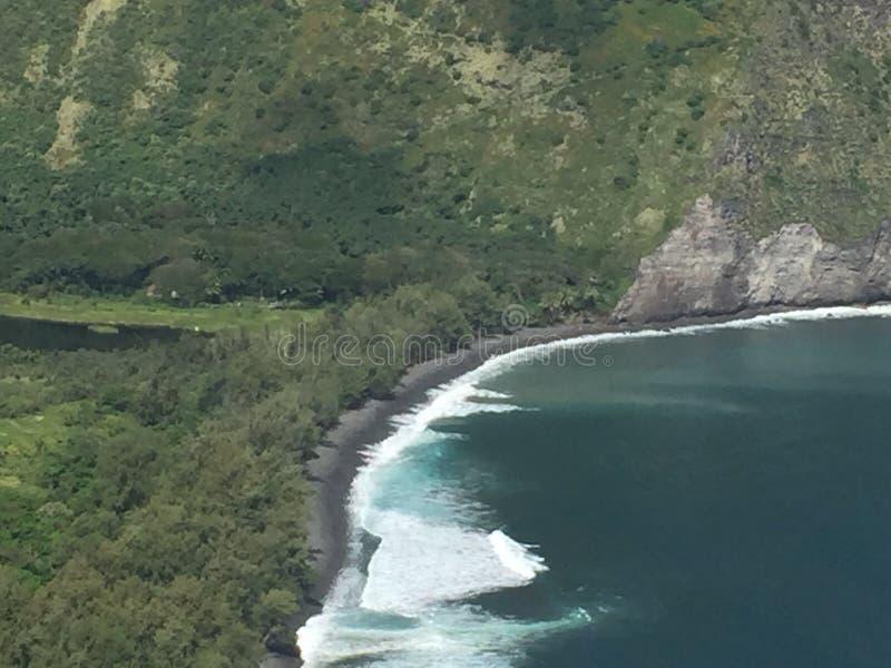 Επιφυλακή κοιλάδων Waipio στοκ εικόνες