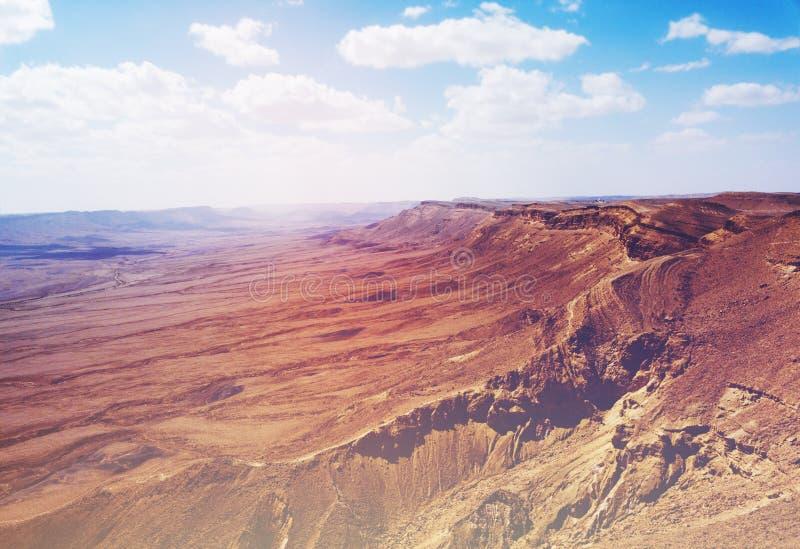 Επιφύλαξη φύσης του Ramon, Mitzpe Ramon, έρημος Negev, Ισραήλ στοκ εικόνες