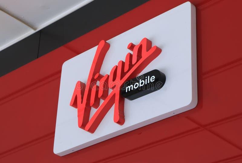 Επιχείρηση Αυστραλία του Virgin Mobile στοκ εικόνες με δικαίωμα ελεύθερης χρήσης