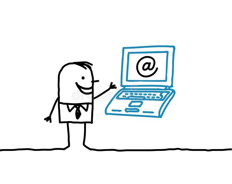 επιχείρηση Διαδίκτυο απεικόνιση αποθεμάτων
