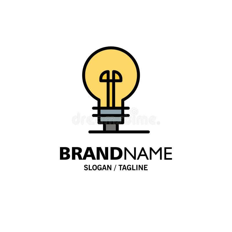 Επιχείρηση, καθορισμός, διαχείριση, πρότυπο επιχειρησιακών λογότυπων προϊόντων Επίπεδο χρώμα διανυσματική απεικόνιση