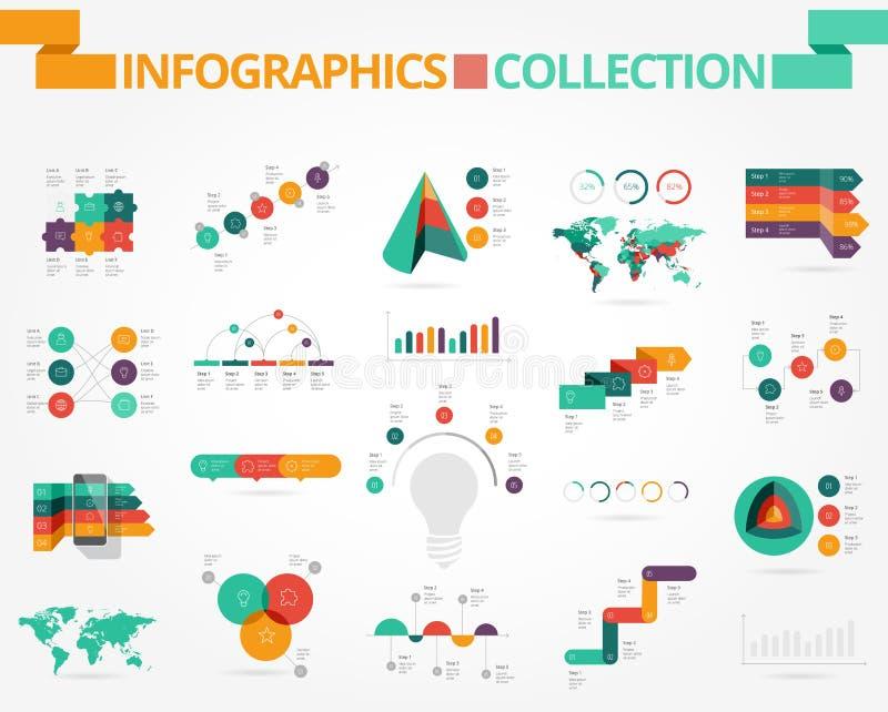 Επιχείρηση και κοινωνικό infographics διανυσματική απεικόνιση