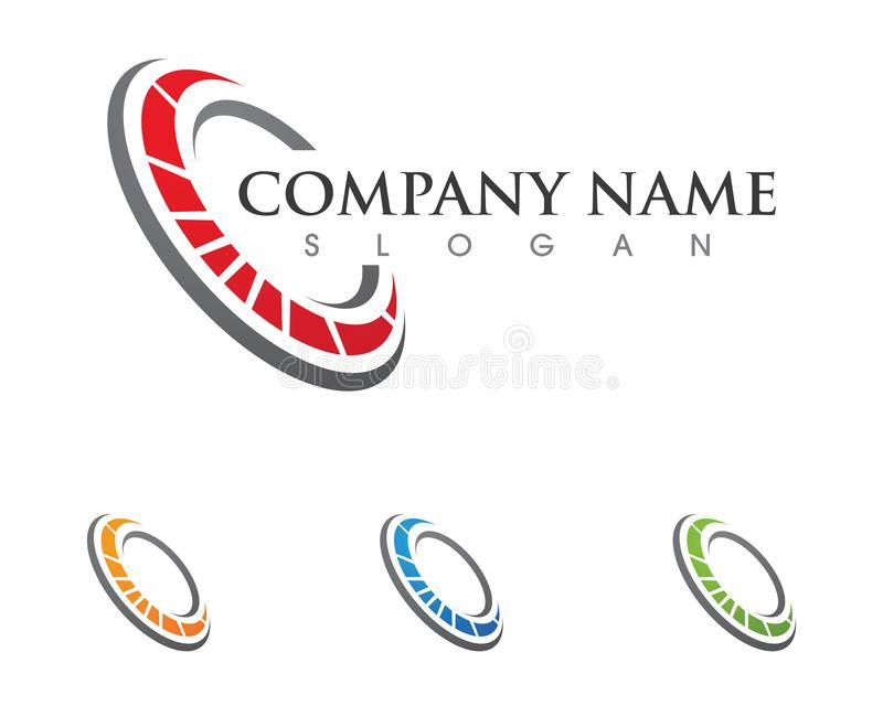 Επιχείρηση λογότυπων επιστολών Γ διανυσματική απεικόνιση