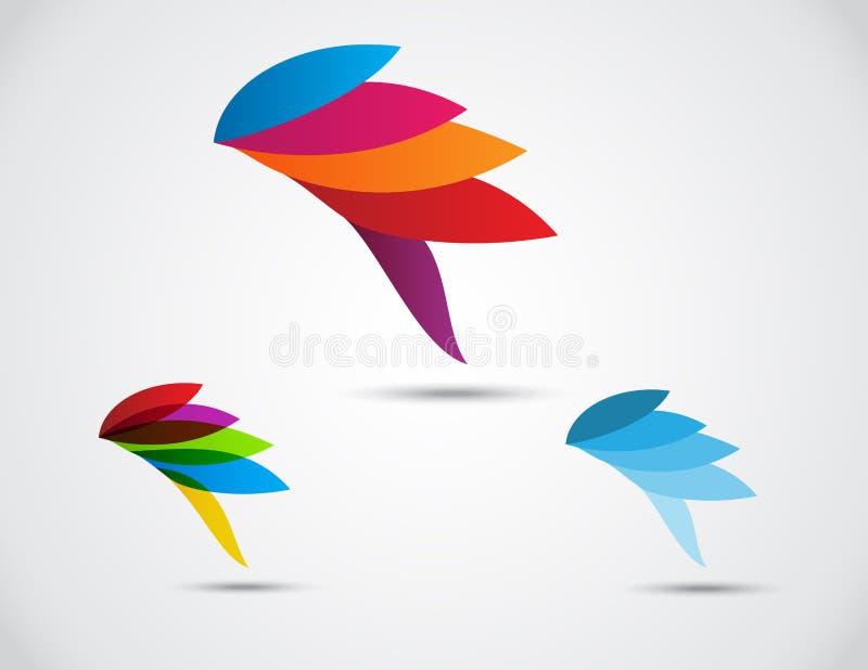 Επιχείρηση λογότυπων. περίληψη πουλιών ελεύθερη απεικόνιση δικαιώματος