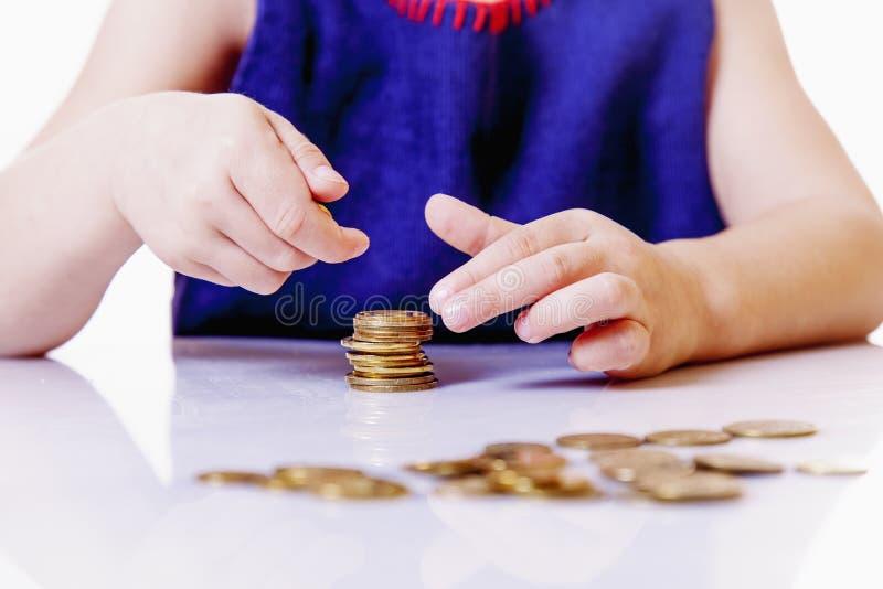 Επιχείρηση παιδιών διδασκαλίας Οικονομική εκπαίδευση έναρξης χαριτωμένου λίγα στοκ εικόνες με δικαίωμα ελεύθερης χρήσης