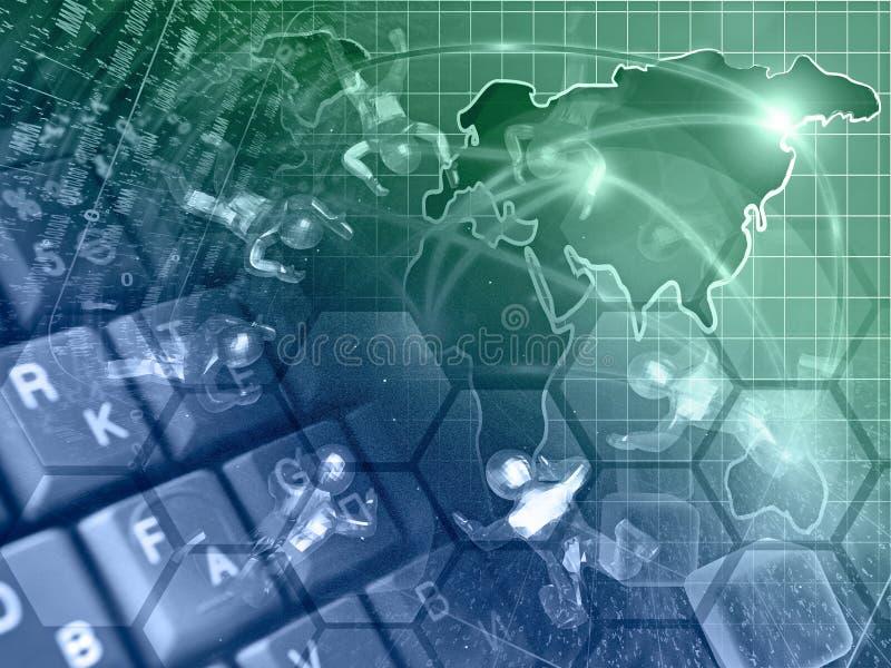 Επιχείρηση υπολογιστών στοκ φωτογραφία με δικαίωμα ελεύθερης χρήσης