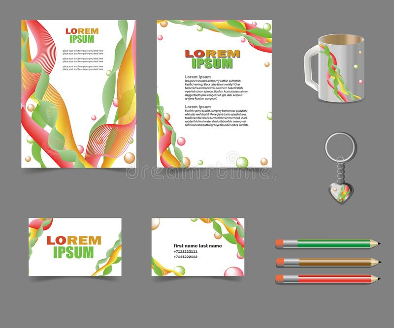 Επιχείρηση-ύφος-για-σας-αφηρημένος-σχέδιο-πρόγραμμα-με-πέπλο-και-σφαίρες απεικόνιση αποθεμάτων