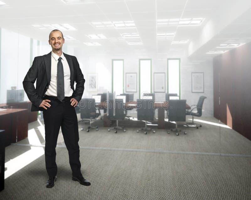 επιχειρηματίας βέβαιος στοκ φωτογραφία με δικαίωμα ελεύθερης χρήσης