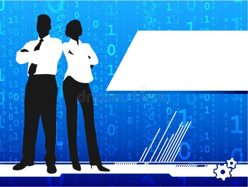 επιχειρηματίας Διαδίκτ&upsilon απεικόνιση αποθεμάτων