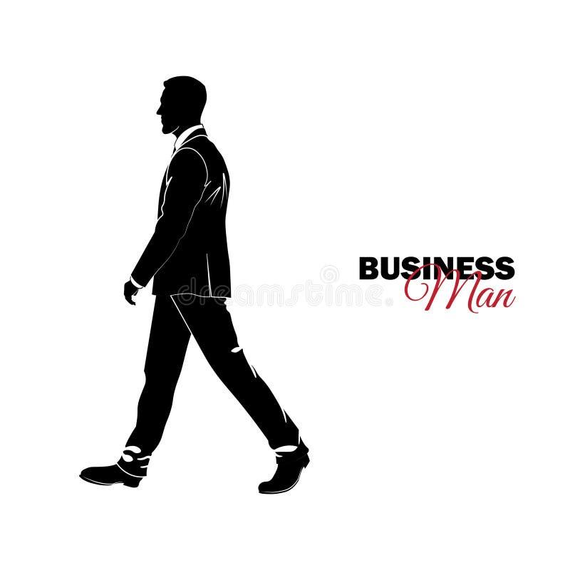 Επιχειρηματίας, διευθυντής κοστούμι επιχειρησιακών ελεύθερη απεικόνιση δικαιώματος