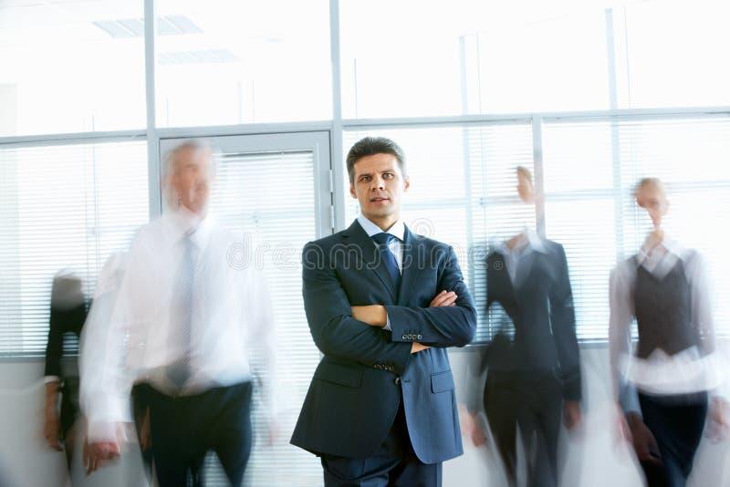 επιχειρηματίας επιτυχής στοκ φωτογραφία