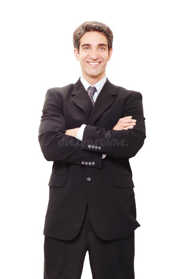 επιχειρηματίας επιτυχής στοκ εικόνα με δικαίωμα ελεύθερης χρήσης