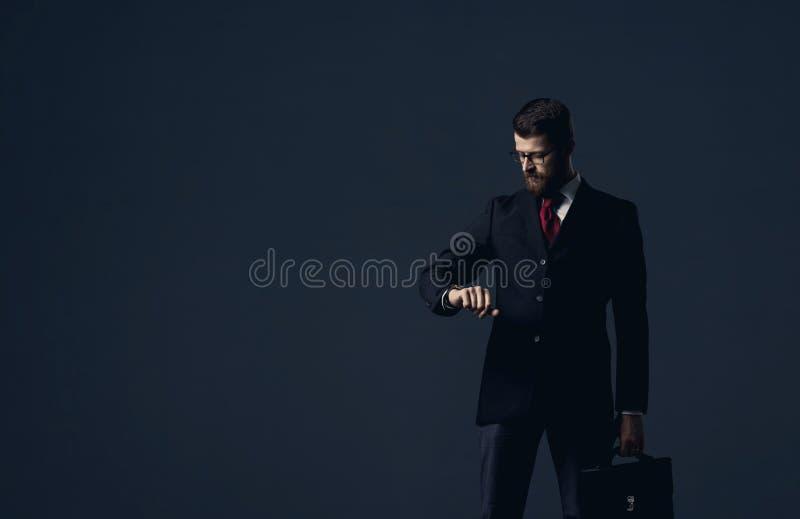 Επιχειρηματίας Επιχείρηση, γραφείο και οικονομική έννοια στοκ εικόνες