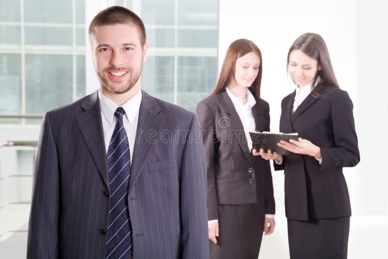 επιχειρηματίας ευτυχής στοκ φωτογραφίες