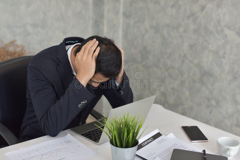 Επιχειρηματίας κατάσταση αγχωτική στοκ φωτογραφίες