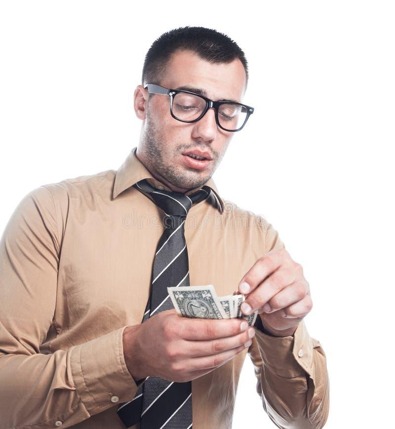 Download Επιχειρηματίας με τα χρήματα Στοκ Εικόνες - εικόνα από χρήματα, closeup: 62723286