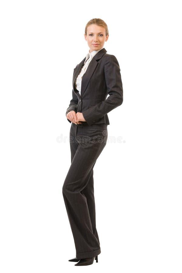 Επιχειρηματίας πλήρης-σώματος, που απομονώνεται στοκ φωτογραφία με δικαίωμα ελεύθερης χρήσης