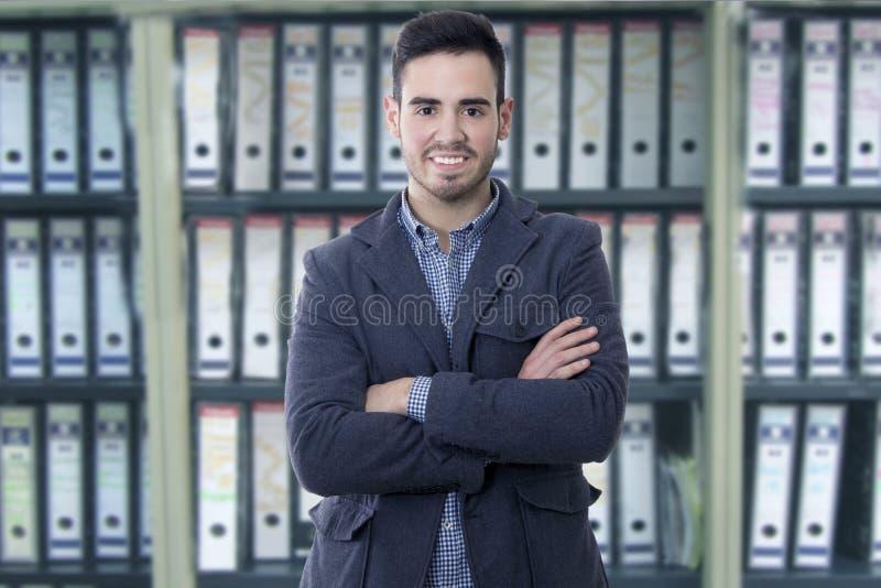Επιχειρηματίας πορτρέτου στοκ φωτογραφίες με δικαίωμα ελεύθερης χρήσης