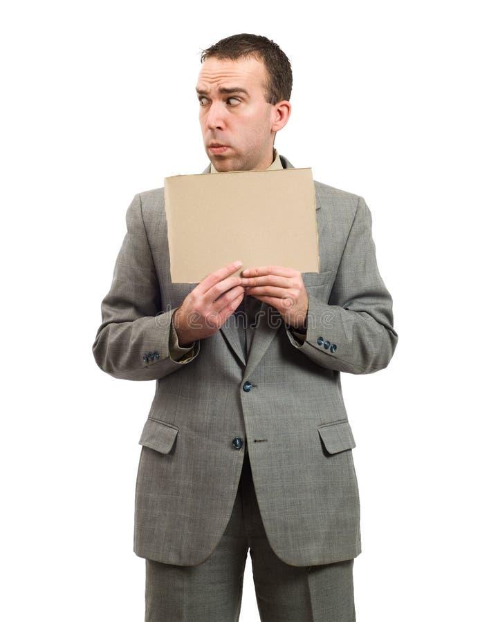 επιχειρηματίας που ανησ&u στοκ εικόνες