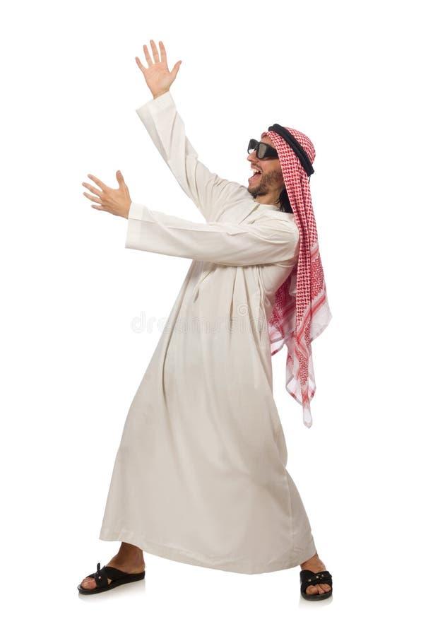 Download Επιχειρηματίας που απομονώνεται αραβικός στο λευκό Στοκ Εικόνα - εικόνα από arabesque, bagel: 62706403