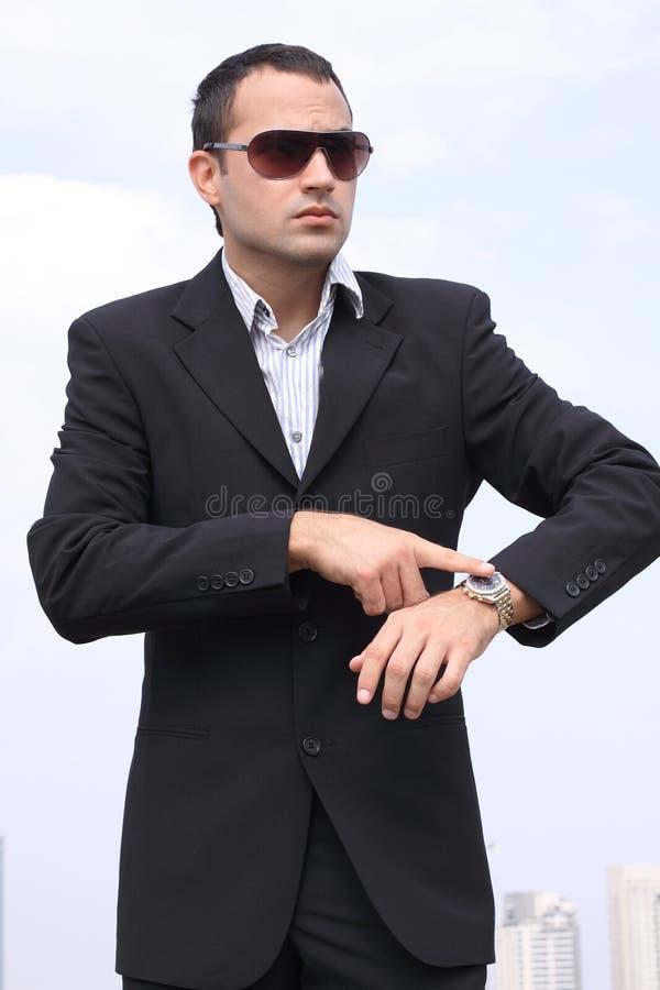 επιχειρηματίας που εμφα στοκ φωτογραφία