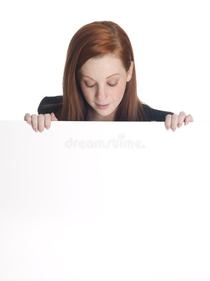 Επιχειρηματίας - που κοιτάζει κάτω στοκ εικόνες