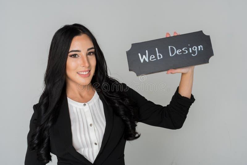 Επιχειρηματίας στην εργασία στοκ φωτογραφίες