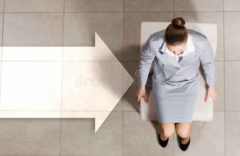 επιχειρηματίας στοχαστ&io στοκ εικόνες με δικαίωμα ελεύθερης χρήσης