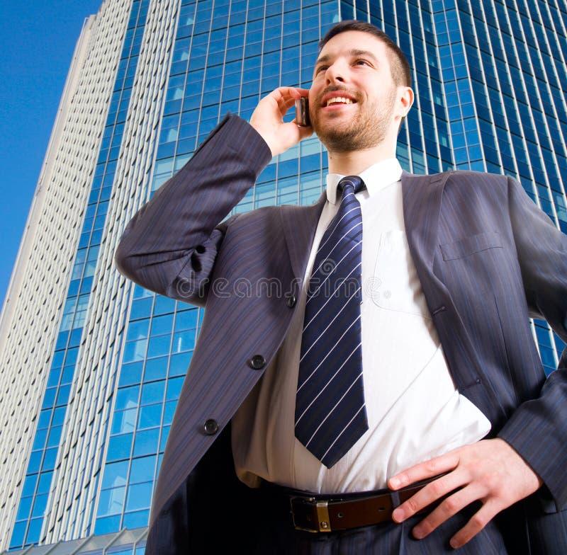 επιχειρηματίας σύγχρονο& στοκ εικόνες με δικαίωμα ελεύθερης χρήσης