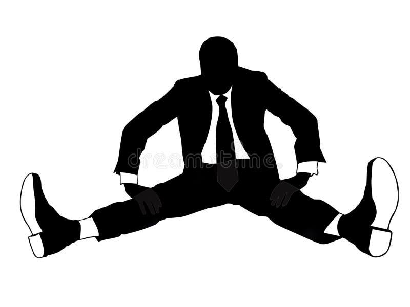 επιχειρηματίας υπερήφαν&omi διανυσματική απεικόνιση
