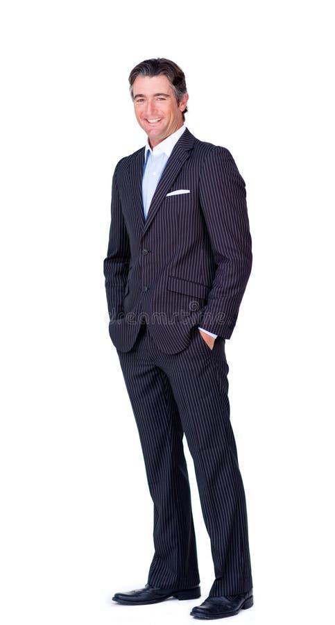 επιχειρηματίας χαρισματ&i στοκ εικόνα με δικαίωμα ελεύθερης χρήσης