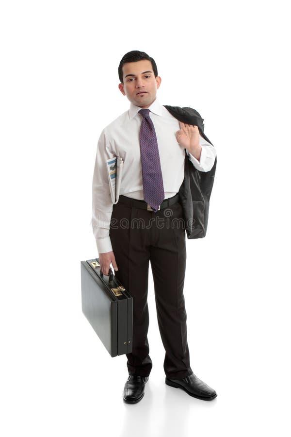 επιχειρηματίας χαρτοφυλάκων στοκ εικόνα
