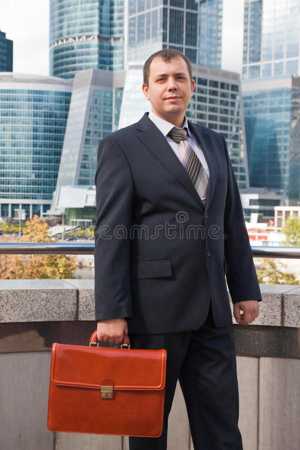 επιχειρηματίας χαρτοφυ&la στοκ εικόνες με δικαίωμα ελεύθερης χρήσης