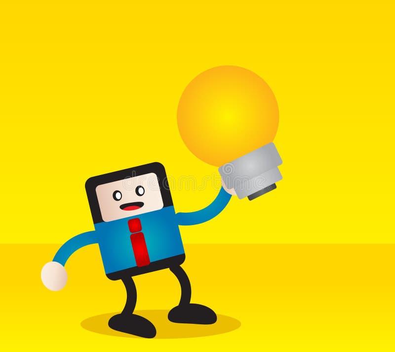 Download Επιχειρηματίας διανυσματική απεικόνιση. εικονογραφία από εμπνεύστε - 22782203