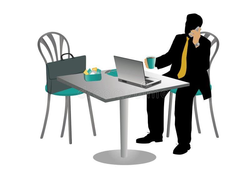 επιχειρηματίας διανυσματική απεικόνιση