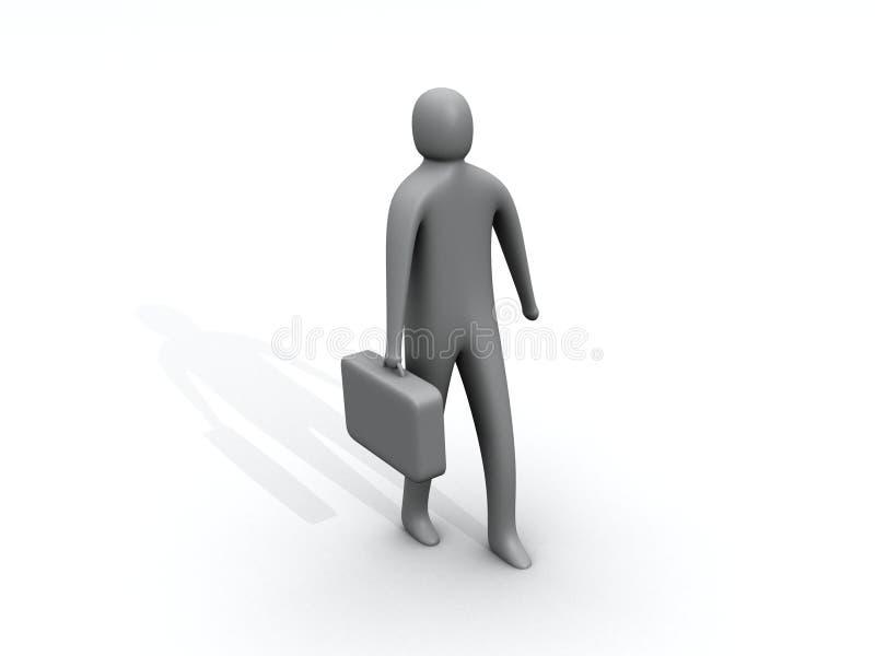 επιχειρηματίας απεικόνιση αποθεμάτων