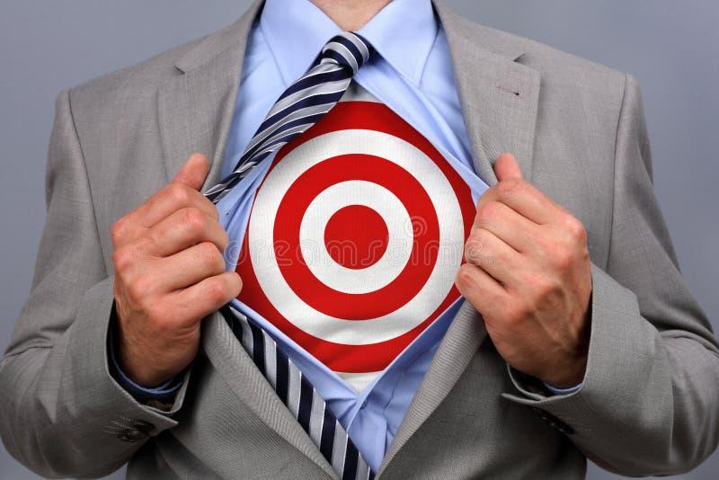 Επιχειρηματίας Superhero στοκ φωτογραφία με δικαίωμα ελεύθερης χρήσης