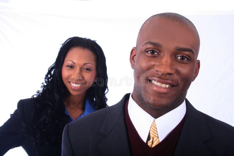 επιχειρηματίες αφροαμερικάνων στοκ φωτογραφίες
