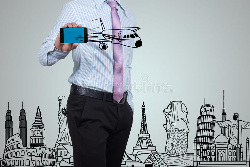 επιχειρηματίες για να ταξιδεψει στοκ εικόνες με δικαίωμα ελεύθερης χρήσης