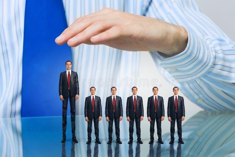 Επιχειρηματίες που καλύπτονται με το φοίνικα στοκ φωτογραφίες