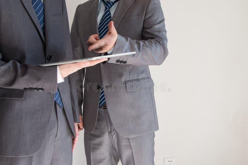 επιχειρηματίες δύο στοκ φωτογραφίες