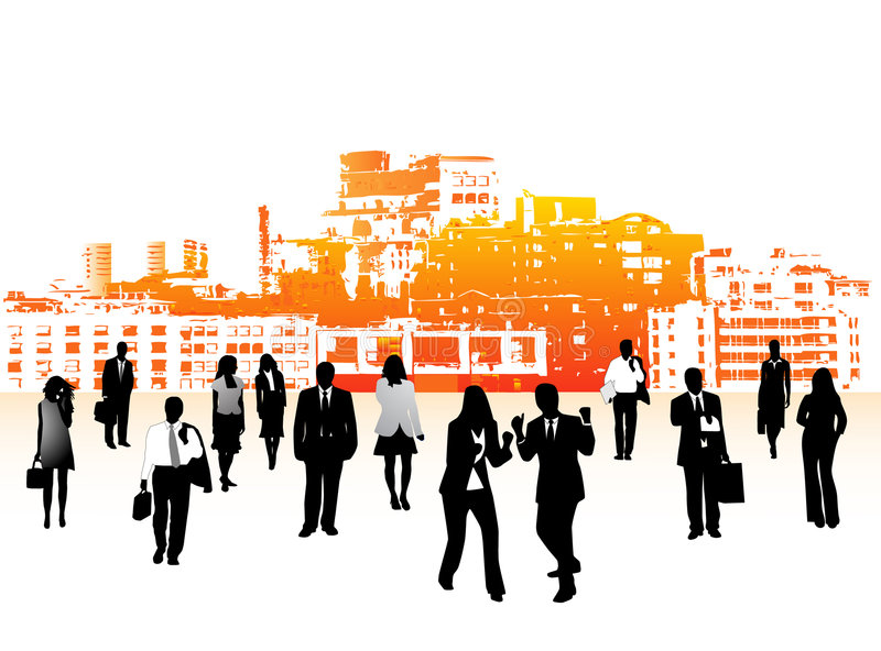επιχειρηματίες απεικόνιση αποθεμάτων