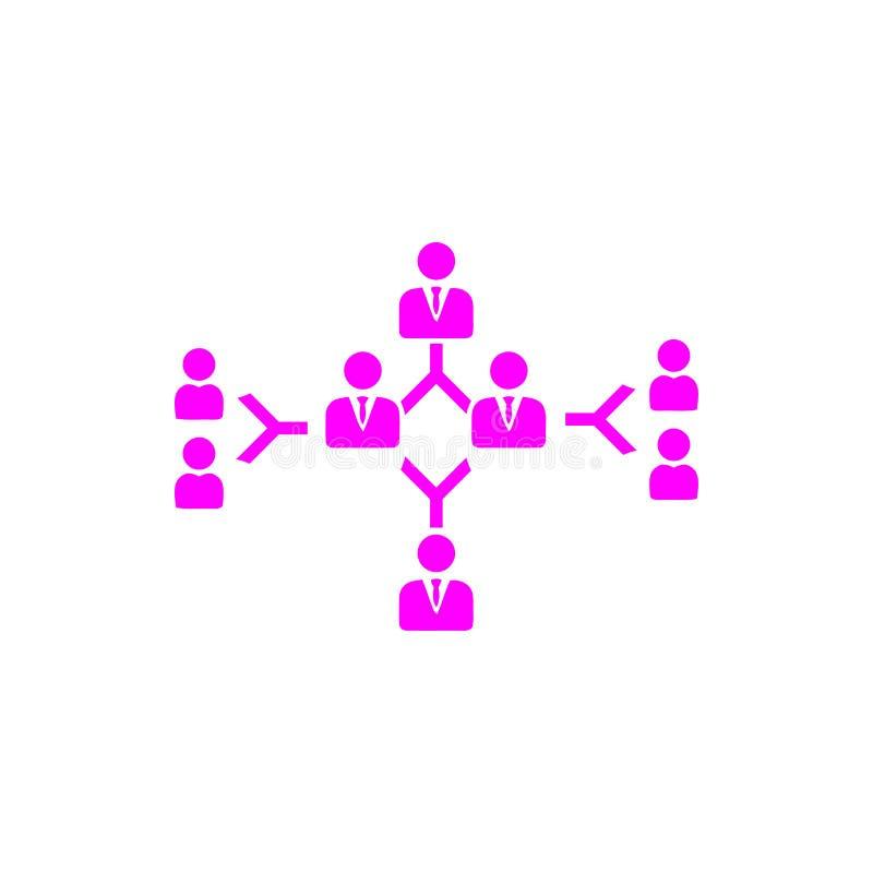 Επιχειρηματική απόφαση, επιχειρηματικό σχέδιο, απόφαση - παραγωγή, διαχείριση, απόφαση ομάδων, σχέδιο, προγραμματισμός, ροδανιλίν διανυσματική απεικόνιση