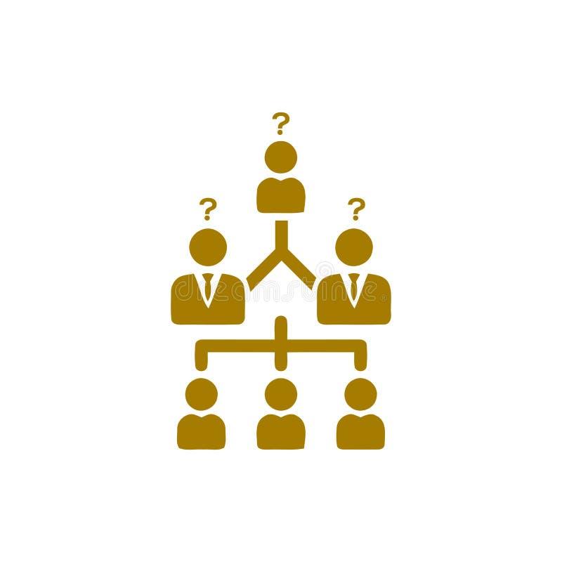 Επιχειρηματική απόφαση, επιχειρηματικό σχέδιο, απόφαση - παραγωγή, διαχείριση, απόφαση ομάδων, σχέδιο, προγραμματισμός, χρυσό εικ ελεύθερη απεικόνιση δικαιώματος