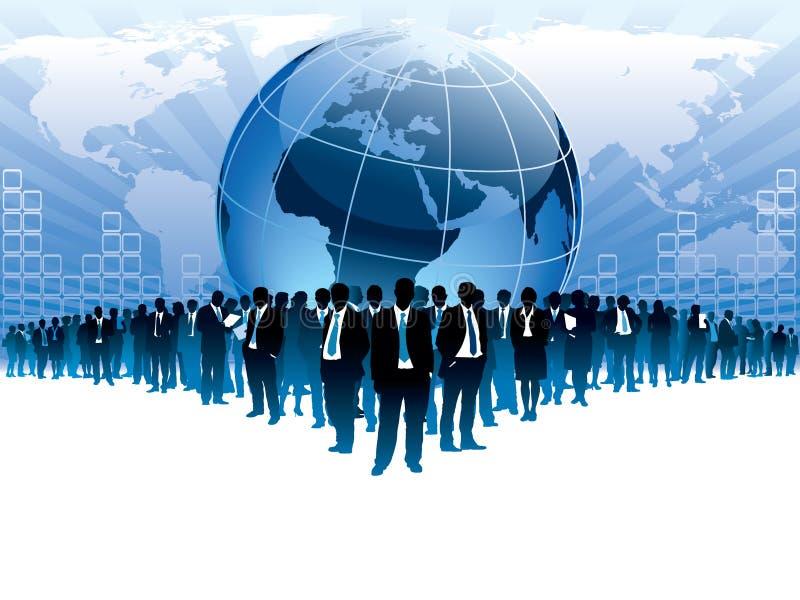 επιχειρηματικό πεδίο παγ& ελεύθερη απεικόνιση δικαιώματος