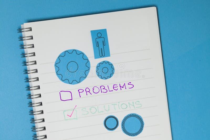 Επιχειρησιακά έννοια, λύσεις και προβλήματα στοκ φωτογραφίες με δικαίωμα ελεύθερης χρήσης