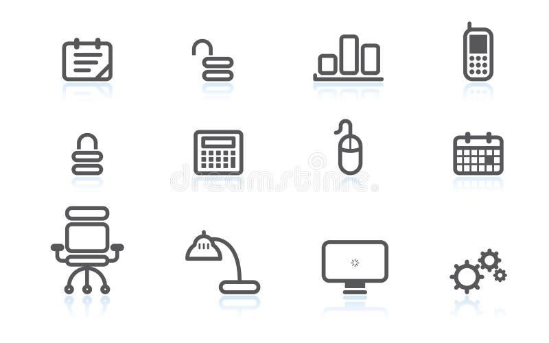 επιχειρησιακά εικονίδι&al απεικόνιση αποθεμάτων