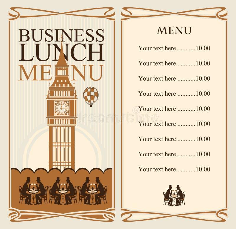 Επιχειρησιακά μεσημεριανά γεύματα ελεύθερη απεικόνιση δικαιώματος