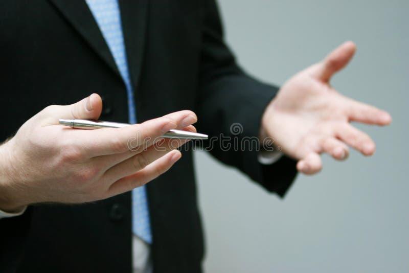 επιχειρησιακά χέρια στοκ εικόνες με δικαίωμα ελεύθερης χρήσης